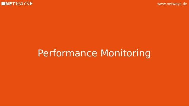 www.netways.de Performance Monitoring
