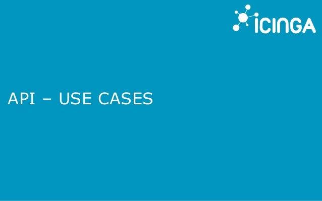 API – USE CASES