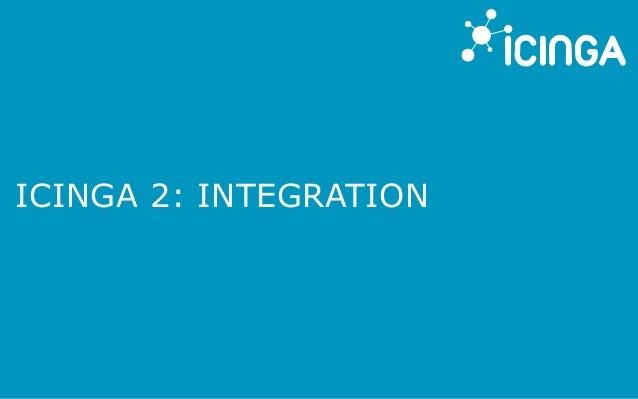 ICINGA 2: INTEGRATION