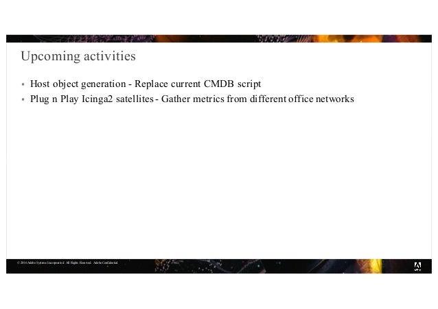 Monitoring with Icinga2 at Adobe