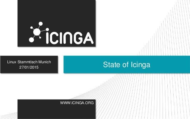 WWW.ICINGA.ORG Linux Stammtisch Munich 27/01/2015 State of Icinga