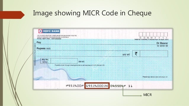 Image Showing MICR Code In Cheque 7
