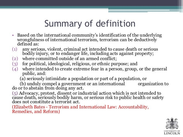 distinction of terrorists in political violence politics essay I suggest that as a form of political violence, terrorism can be described according to four main characteristics first, terrorism is an intentional and pre-determined strategy of political violence  an important distinction here is that terrorism instrumentalises its victims unlike the actions of soldiers in war who seek to directly.