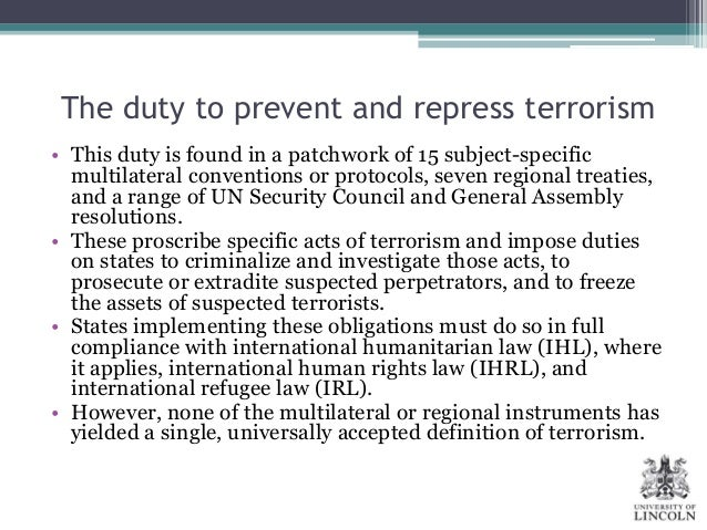 defining the concept of terrorism Unfortunately defining terrorism is just as hard as understanding it  however the first verified event to expose the politicized use of the term terror was the.