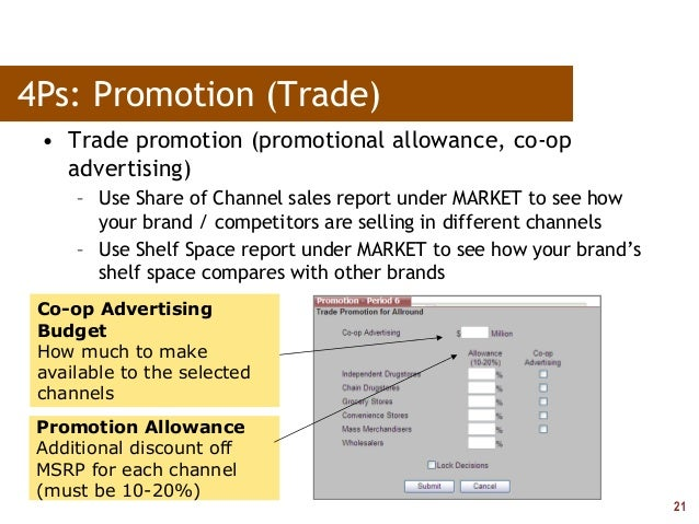 pharmasim 4ps Pharmasim paper details: part 1 show 2 marketing objectives (one each for your b2c plan and your b2b plan)  part 2 here is where you reference your 4ps tactics.