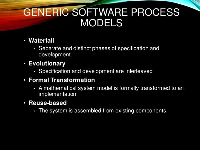 system design of the waterfall implementation model information technology essay Advantages of incremental life cycle model information technology essay  system design is a process of  stages of waterfall model system/information .