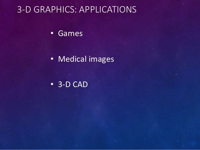 THE FUTURE OF GRAPHICS & ANIMATION • New graphic-file storage formats will appear with better compression efficiencies • 3...