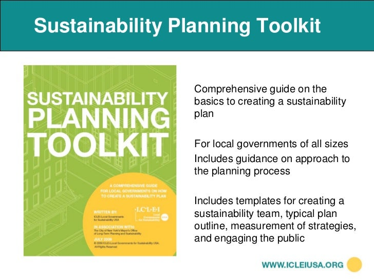 Sustainability plan template 28 images business sustainability sustainability plan template mapd 2010 iclei sustainability toolkit pronofoot35fo Images