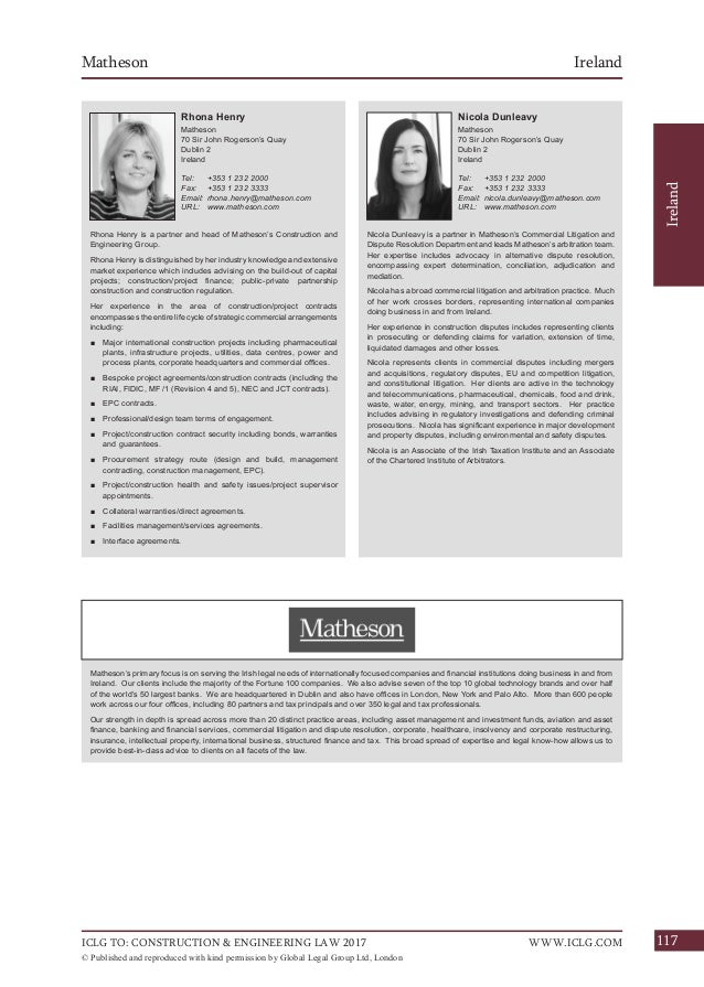 Stassen Llp iclg guide to construction engineering 2017