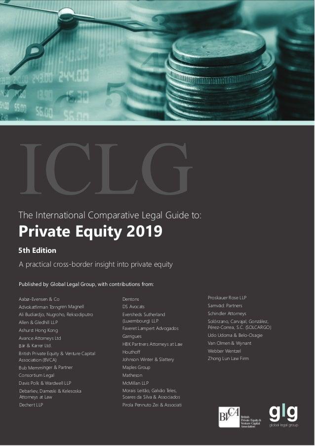 5th Edition Private Equity 2019 Aabø-Evensen & Co Advokatfirman Törngren Magnell Ali Budiardjo, Nugroho, Reksodiputro Alle...