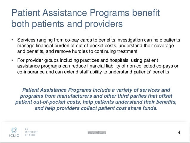 Iclio eCourse Navigating Patient Assistance Programs for Immunotherapy
