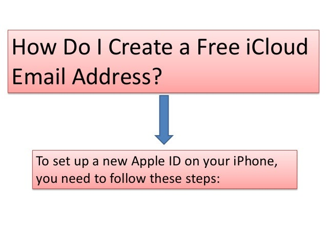 How Do I Create a Free iCloud Email Address