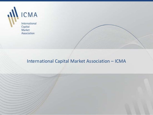 International Capital Market Association – ICMA