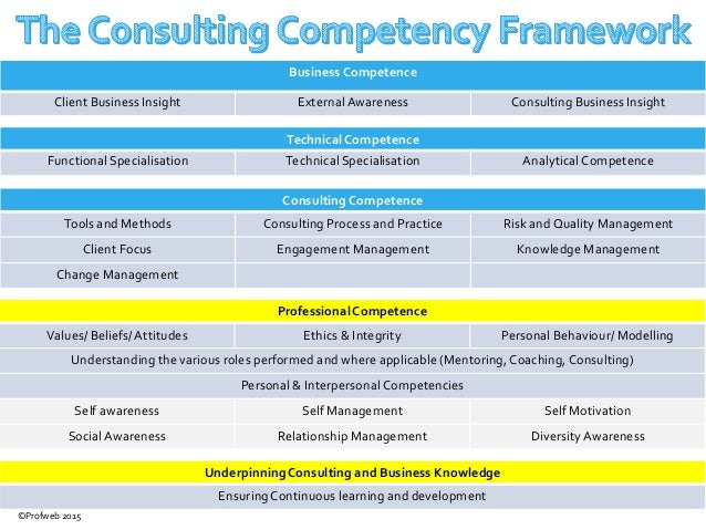 framework for understanding development of business Competency framework  and to design structured career development programmes  business needs and policies for introducing change.