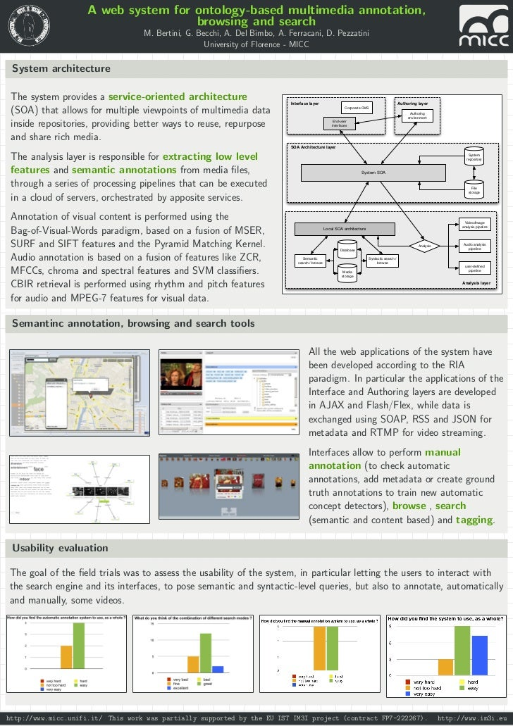 A web system for ontology-based multimedia annotation,                                     browsing and search            ...