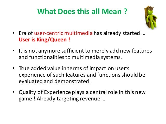 Quality Of Experience In Multimedia Systems And Services A Journey T