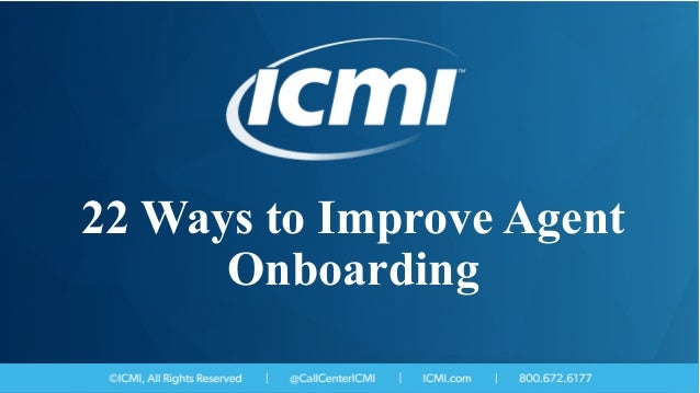 22 Ways to Improve Agent Onboarding