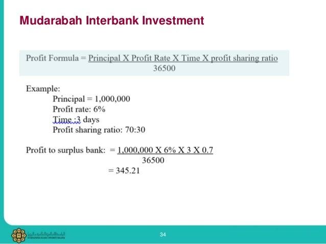 al-mudharabah interbank investment clubs
