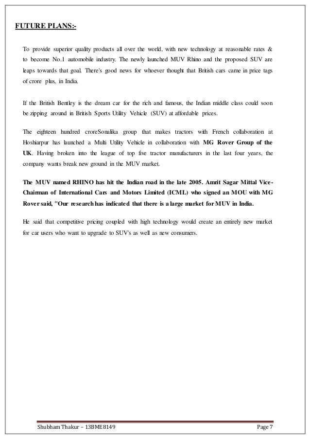 International cars motors ltd icml sonalika training for Sliding gate motor price in india