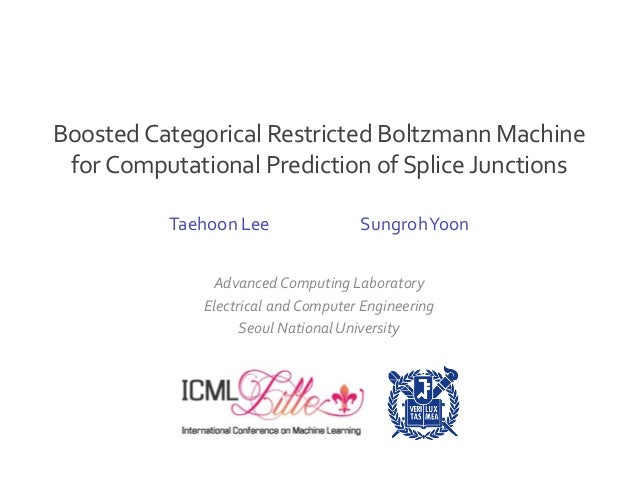 Advanced Computing Laboratory Electrical and Computer Engineering Seoul National University Taehoon Lee SungrohYoon Booste...