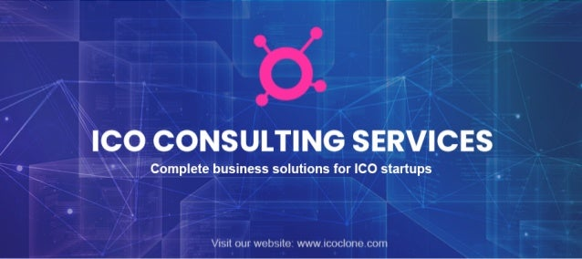 ICO Advisory and Consulting Services