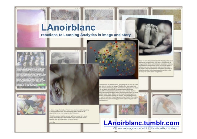 LAnoirblancreactions to Learning Analytics in image and story                                  LAnoirblanc.tumblr.com     ...