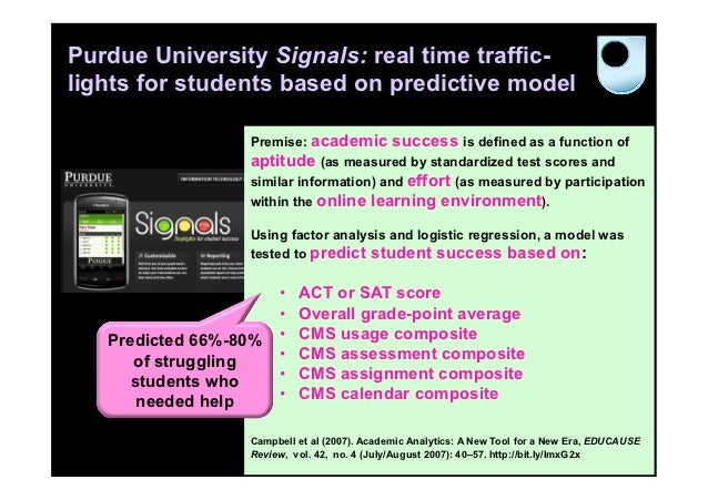 Purdue University Signals: real time traffic-lights for students based on predictive model                  Premise: acade...