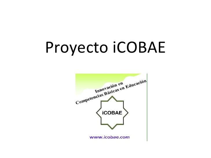 Proyecto iCOBAE