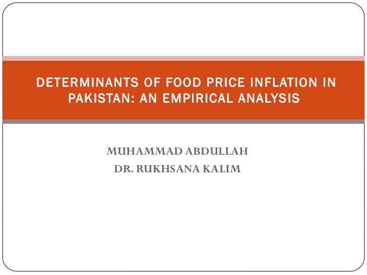 essay on price inflation in pakistan Inflation refers to price rise of important essential commodities like wheat, flour,  milk, meat, medical services and other essential services of life.