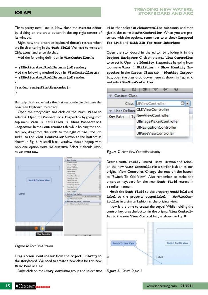 Beginning with basics of iOS