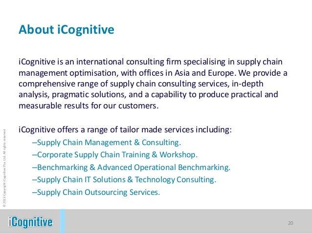 ICognitive SCOR Model & ICognitive Methodology