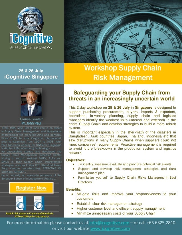 (PhD, MBA, MSc, Beng) John Paul is an expert in Supply Chain Management and Operational Improvement for manufacturing and ...