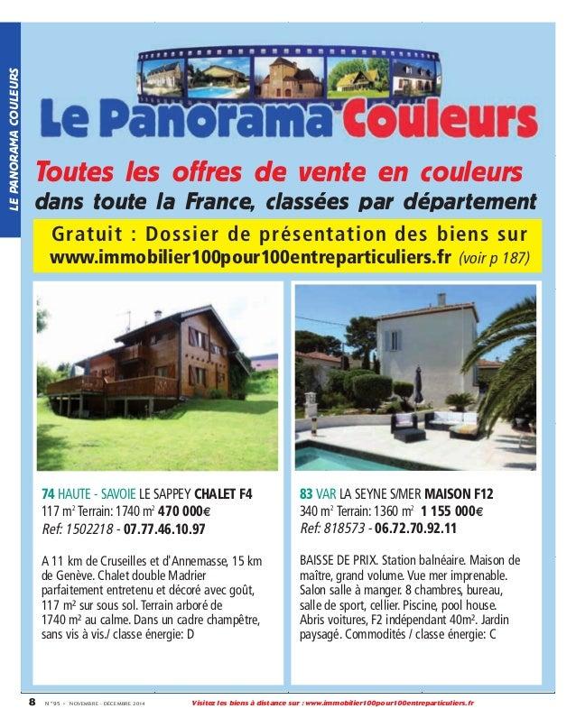 L 39 immobilier 100 entre particuliers journal novembre for Notaire cruseilles