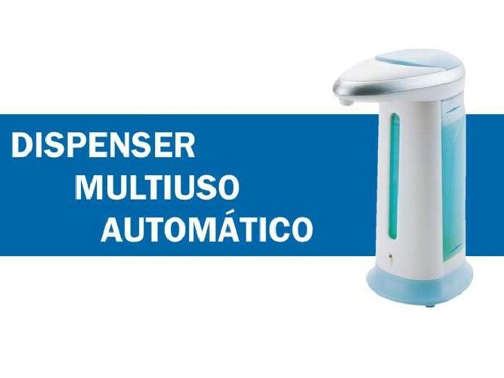 Dispenser Multiuso Automático ClearPassage