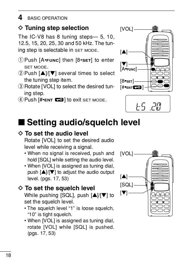 icom ic v8 manual rh slideshare net service manual icom ic-v8000 service manual icom ic-v80 free download