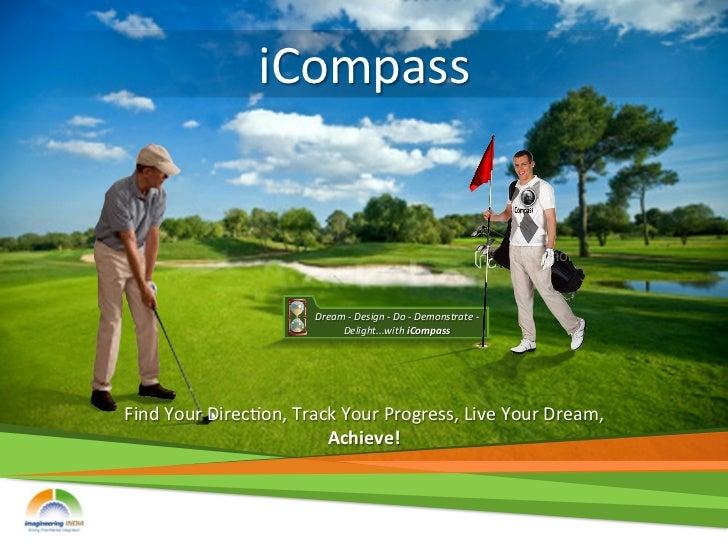 iCompass                                   Dream -‐ Design -‐ Do -‐ Demonstrate -‐                  ...
