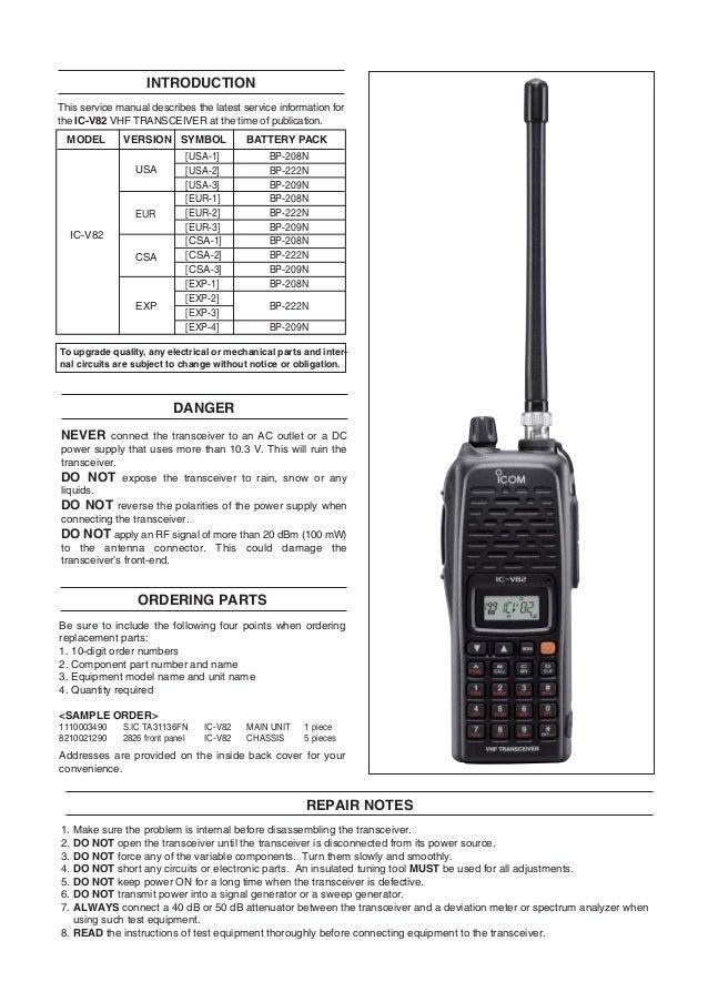 icom ic v8 service manual guide rh icom ic v8 service manual guide milesfiles de Icom IC 746 Pro Review Icom IC 746 Pro Review