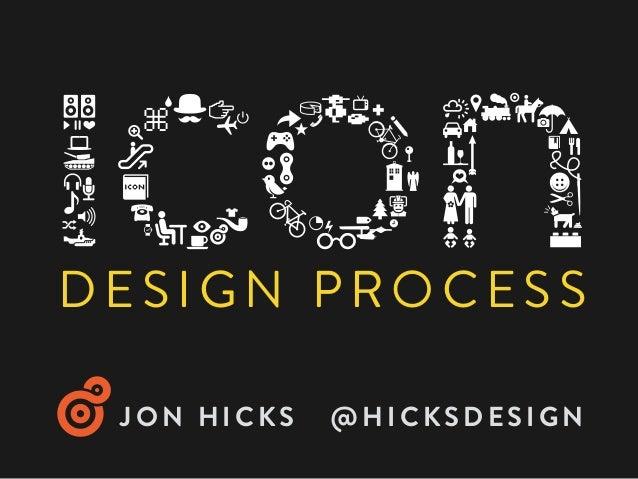 The Icon Design Process – Jon Hicks