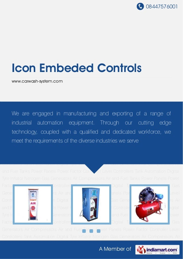 08447576001A Member ofIcon Embeded Controlswww.carwash-system.comDigital Tyre Inflator Nitrogen Gas Generators Air Compres...