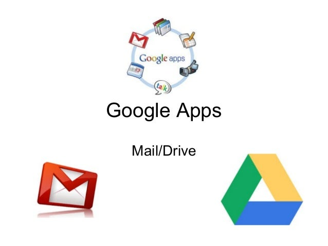 Google Apps Mail/Drive