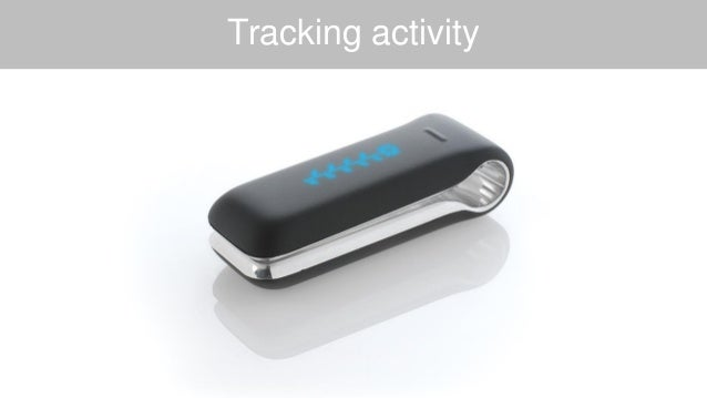Tracking activity