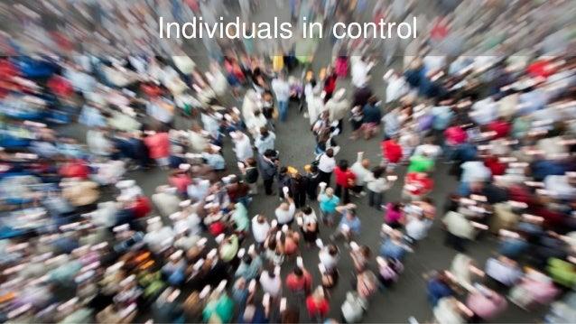 Individuals in control