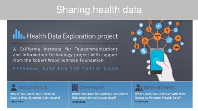 Sharing health data