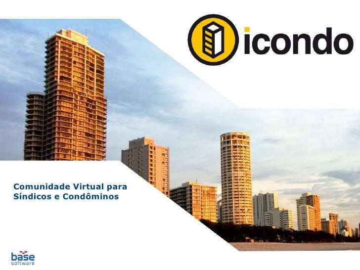 Comunidade Virtual para Síndicos e Condôminos
