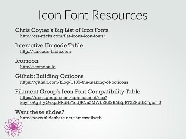 Icomoon unicode list / Iota coin team generator