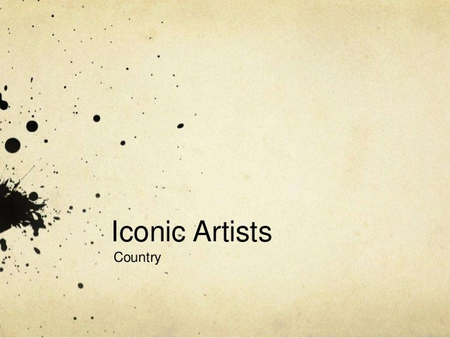 Iconic Artists Country