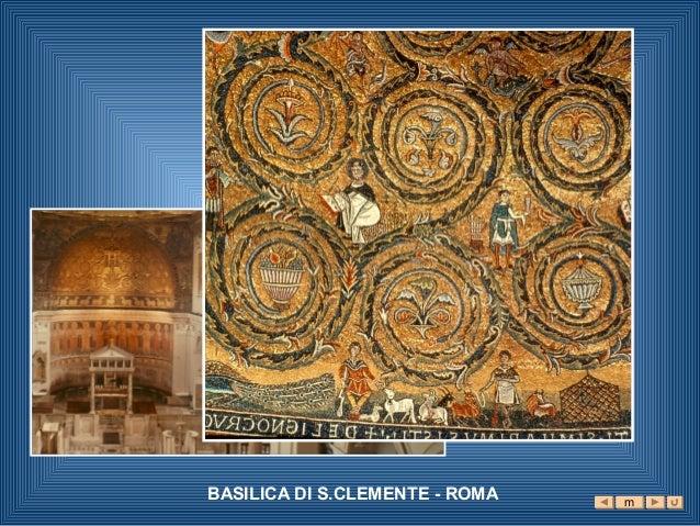 BASILICA DI S.CLEMENTE - ROMA   m
