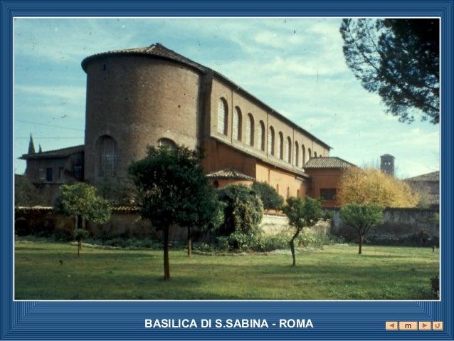 BASILICA DI S.SABINA - ROMA   m