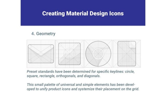 Creating Material Design Icons     4. Geometry     ' ' l     Preset standards have been determined for specific keylines:  ...