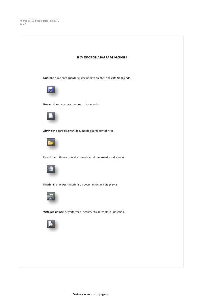 miércoles, 08 de diciembre de 201018:48                                     Notas sin archivar página 1